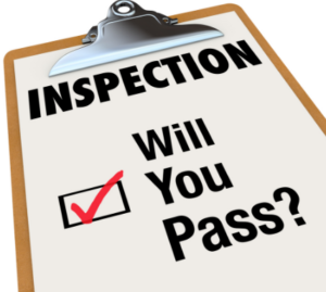Picture of home inspection checklist